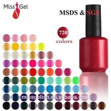 Wholesale 15ml UV gel Redcome Gel UV/LED gel 444 colors