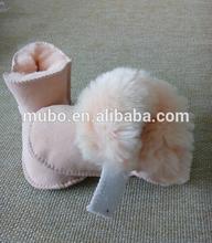 Lovely 100% Genuine Sheepskin Baby Shoes