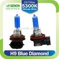 xencn otomotiv halojen far h9 12V 65W 5300K Xenon görünüm mavi elmas ışık
