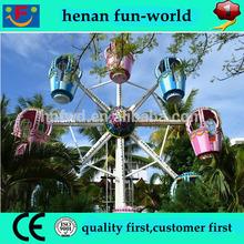 5 x 3.5 m area China Fun equipment ferris wheel