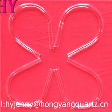 All type and shape fused uv filter quartz tube from hongyang quartz