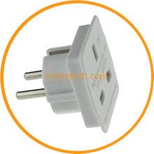 Dailyetech UK To EU Adapter AC Power Plug UK Travel Converter Adapter with CE Certification