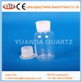 el uso de laboratorio de cuarzo botella de vidrio de laboratorio y la botella de reactivo