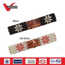western handmade beaded belt