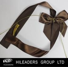 RB01 Chocolate Box Package Elastic Satin Ribbon Bow