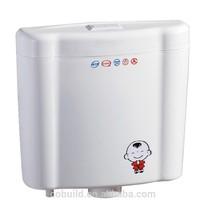 Cuarto de baño económica de plástico squating pan cb-1204 cisterna