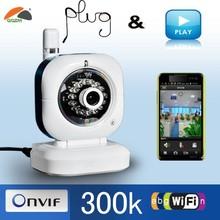 P/T 2 way Audio wireless ip wifi camera home surveillance camera installation