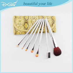 Cheap new design flower makeup kit with makeup brushes