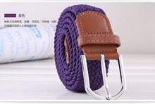 2014 new design hot sale stretch belts jw pepper with alloy buckle