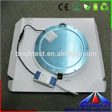 220V led pannel ceiling light round glass panelguide lighting