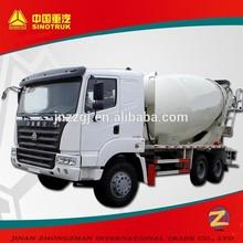 HOWO 6*4 380hp high speed high capacity concrete mixer trucks