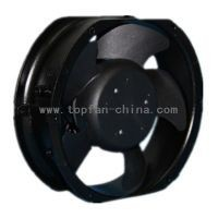 7 inch 12v/24v/48v dc brushless axial fan 172*150*51mm