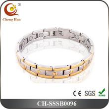 Men's Medical Adjustable Titanium Magnetic Bracelet