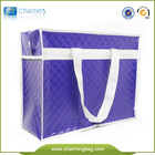 Reusable Big Croco non woven Zipper Shopping Bag