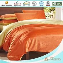cheap super thick warm soft coral fleece blanket / quilt