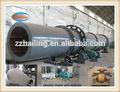 Profesional de lastest de la fábrica astillas de madera de afeitar de aserrín secador de tambor rotatorio de la máquina para caliente de la venta