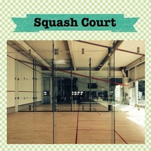 Full glass squash court in sports on sale