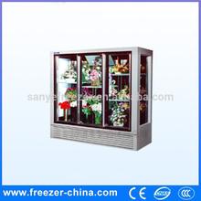 Commercial Glass Door Flower Display Cooler