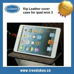leather flip cover case for ipad mini 3