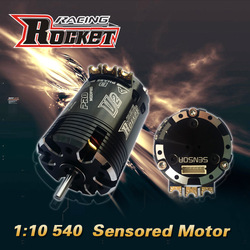 Rocket 540 8.5T sensored Brushless Motor for electric rc car