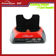 "Hot-selling Multifunction hdd docking station 2.5''&3.5"" USB 2.0 with factory direct sales"