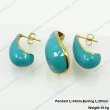 Latest model enamel jewelry finding lady jewelry jewelry summer 2014