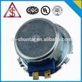 venda quente da alta qualidade de fabricante de ningbo 6v ac motor síncrono