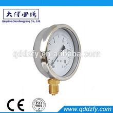 glycerine filled pressure meter
