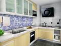 modern zeytin sarı mutfak dolabı yeni tasarımları mobilya