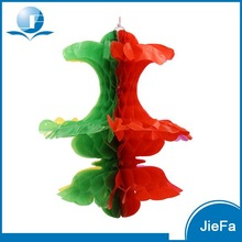 Magical Design Colorful Hot Sale Funny Honeycomb Paper Flowers