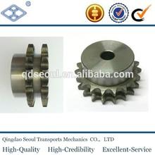 ASA35 45C 16T single roller chain sprocket ASA standard 06C-1