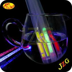 Christmas led flashing straws party Decoration Drinking Straws Manufacturer supply led drinking straws