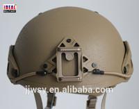 NIJ IIIA Araid Fiber airframe helmet replica