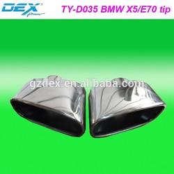 Exhuast muffler car part racing tuning performance universal exhaust muffler tip FOR BMW X5