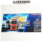 multi-color hot printing plastic sticker