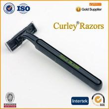 YJ1 2 or 3 blades elegant black OEM ODM manufacturer with your logo shaving razor