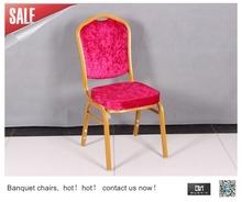 Aluminium Modern banquet steel frame chair For Wedding Events