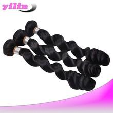 Best quality human hair brazilian loose wave virgin hair