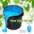 Criar sua própria marca #804w bulk-prima 1kg material cor de unhas de gel uv