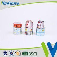 Professional Factory Sale!! Bopp Super Clear self adhesive brown kraft paper tape