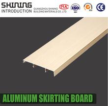 high quality cheap aluminum skirting line baseboard