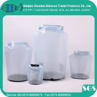 Brand new brand design warp knitting 200d*300d waterproof dry bag,waterproof pvc dry pack bag