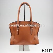 H2417 ladies designer leather tote satchel shoulder bag ,leather satchel bags for tablet