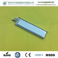 481665 lithium rechargeable polymer battery 450mah 3.7v