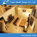 Résidentiel Plan échelle architecturale modèle making / maison et maison de mise en page modèle de prise