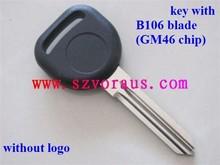 New Replacement Bu Transponder Uncut GM46 Chip Key Circle Plus