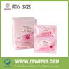 Feminine Antibacterial Personal Vaginal Cleaning Disinfectant Wipes