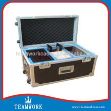 Heavy-duty ATA Standard Utility Trolley Flight Case with Hard EVA Compartment