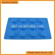 round silicone cupcake cake mold