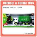 4ch r/c brinquedo caminhão de lixo com a luz para as crianças